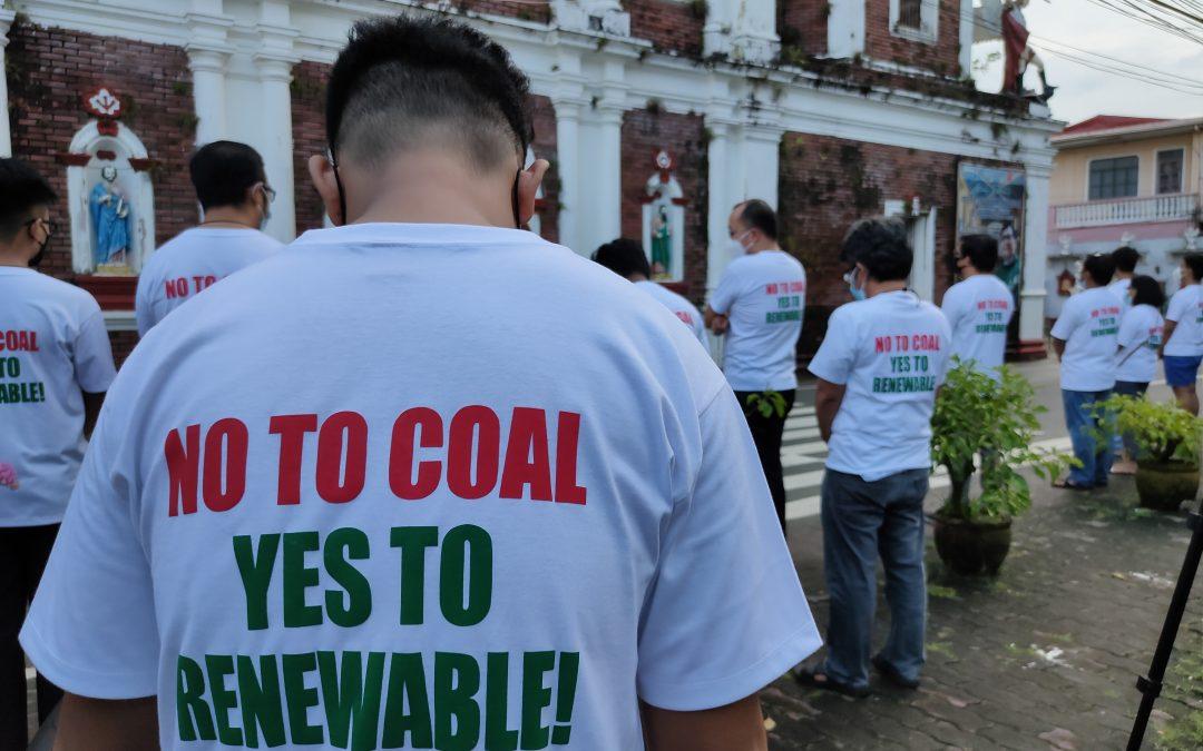 Catholic parish in Quezon holds prayer rally against coal